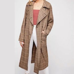 NWT Free People trench coat